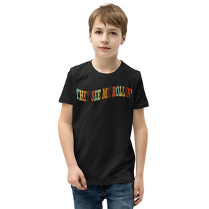 They See Me Rollin' Youth Short Sleeve T-Shirt-Marching Arts Merchandise-Marching Arts Merchandise