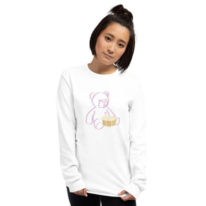 Neon Teddy Snare Long Sleeve Shirt-Marching Arts Merchandise-Marching Arts Merchandise