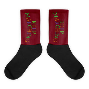 Keep Marching Socks-Marching Arts Merchandise-L-Marching Arts Merchandise
