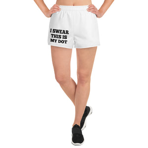 My Dot Women's Athletic Short Shorts - Marching Arts Merchandise