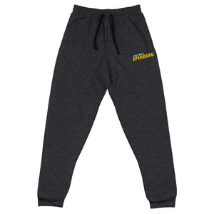 Just Keep Spinning Unisex Joggers-Marching Arts Merchandise-Black Heather-S-Marching Arts Merchandise