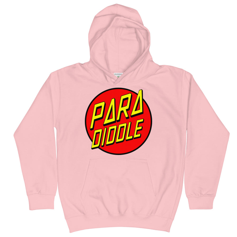 Para Cruz Kids Hoodie-Marching Arts Merchandise-Baby Pink-L-Marching Arts Merchandise