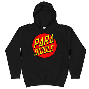 Para Cruz Kids Hoodie-Marching Arts Merchandise-Jet Black-L-Marching Arts Merchandise