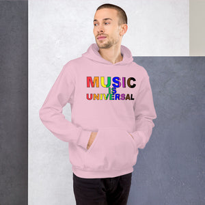 Music Is Universal Unisex Hoodie-Marching Arts Merchandise-Marching Arts Merchandise