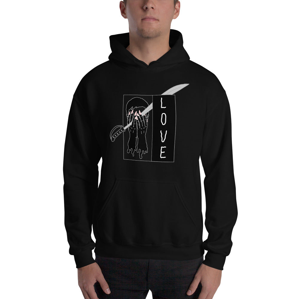Saber Love Color Guard Unisex Hoodie-Marching Arts Merchandise-Marching Arts Merchandise