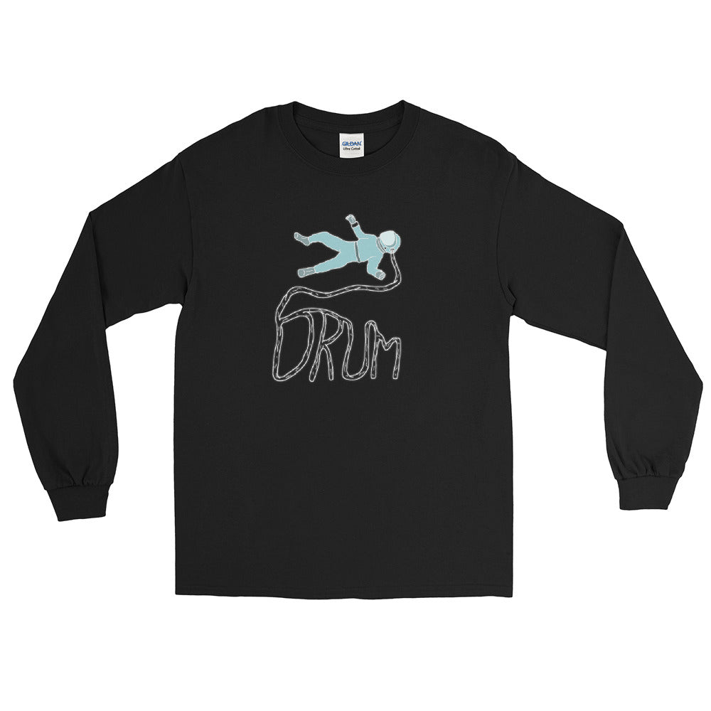 Astro Drum Percussion Long Sleeve Shirt-Marching Arts Merchandise-Black-S-Marching Arts Merchandise