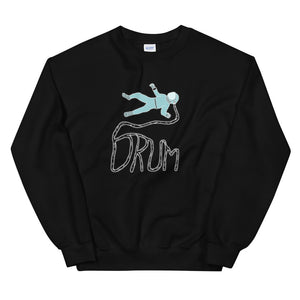 Astro Drum Percussion Unisex Sweatshirt-Marching Arts Merchandise-Black-S-Marching Arts Merchandise