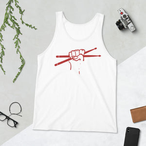 Stick Together Percussion Unisex Tank Top-Marching Arts Merchandise-Marching Arts Merchandise