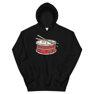 Angry Snare Percussion Unisex Hoodie-Marching Arts Merchandise-Black-S-Marching Arts Merchandise