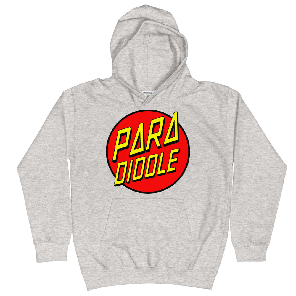 Para Cruz Kids Hoodie-Marching Arts Merchandise-Heather Grey-L-Marching Arts Merchandise