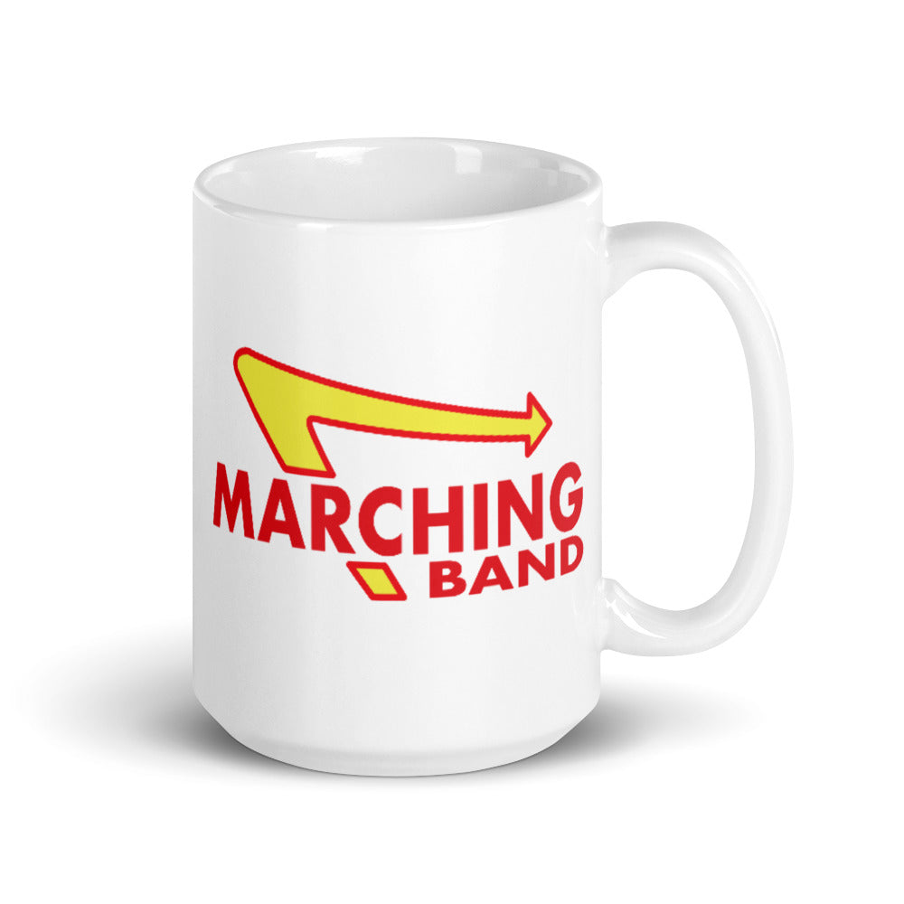 Marching Burgers Mug-Marching Arts Merchandise-15oz-Marching Arts Merchandise