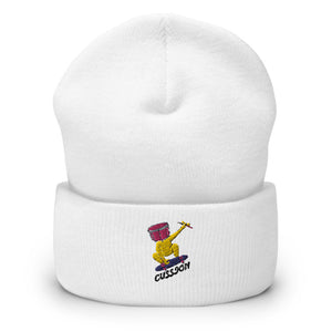 Snare Head Cuffed Beanie-Marching Arts Merchandise-Marching Arts Merchandise