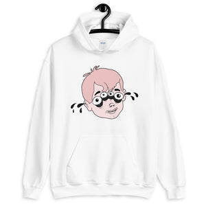 Four Eyed Tenor Percussion Unisex Hoodie-Marching Arts Merchandise-Marching Arts Merchandise