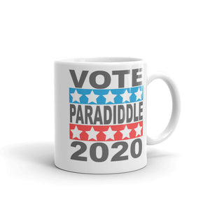 Paradiddle Mug-Marching Arts Merchandise-11oz-Marching Arts Merchandise