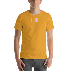 Flam Unisex T-Shirt-Marching Arts Merchandise-S-Marching Arts Merchandise