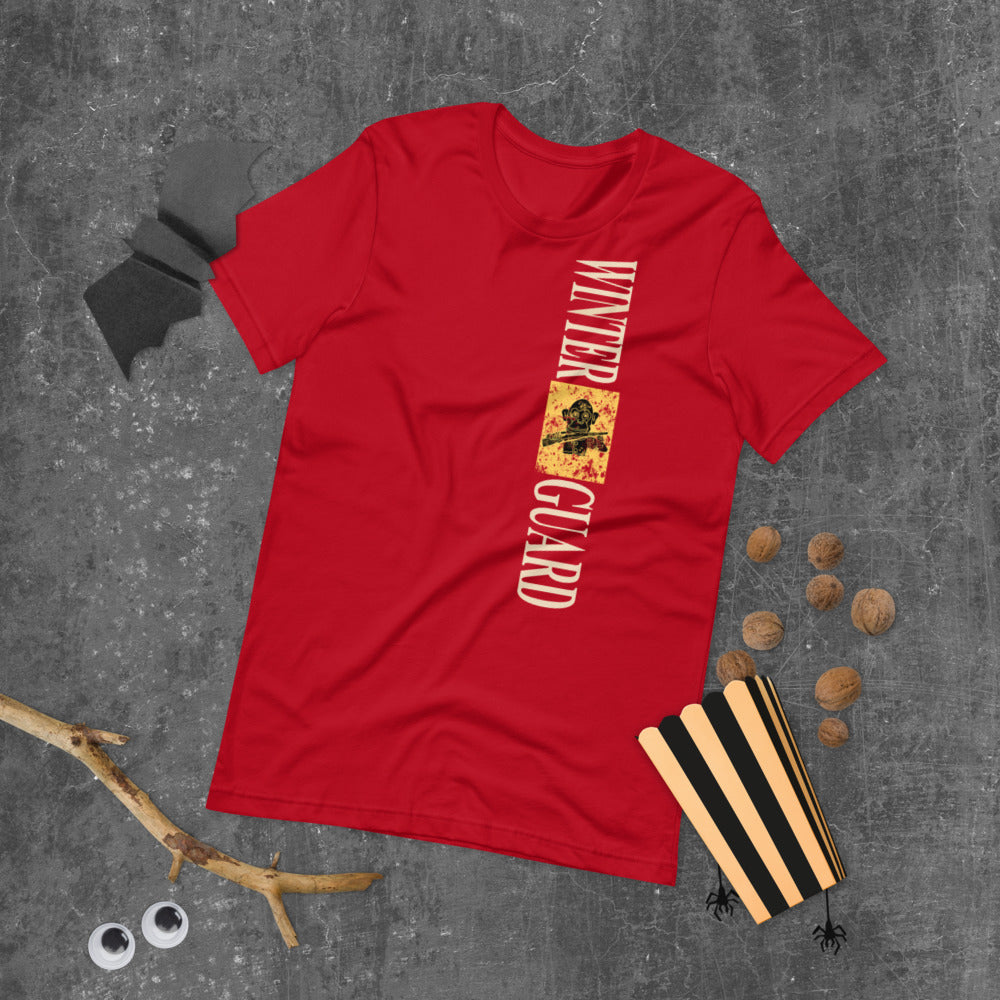 Monkey Rifle Color Guard Short-Sleeve Unisex T-Shirt-Marching Arts Merchandise-Marching Arts Merchandise