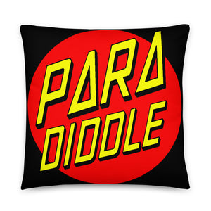Para Cruz Pillow-Marching Arts Merchandise-22×22-Marching Arts Merchandise