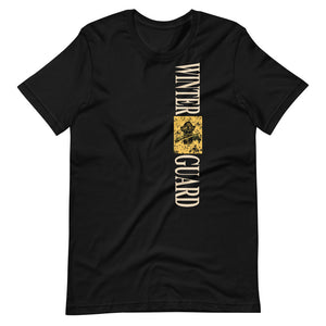Monkey Rifle Color Guard Short-Sleeve Unisex T-Shirt-Marching Arts Merchandise-Black-XS-Marching Arts Merchandise