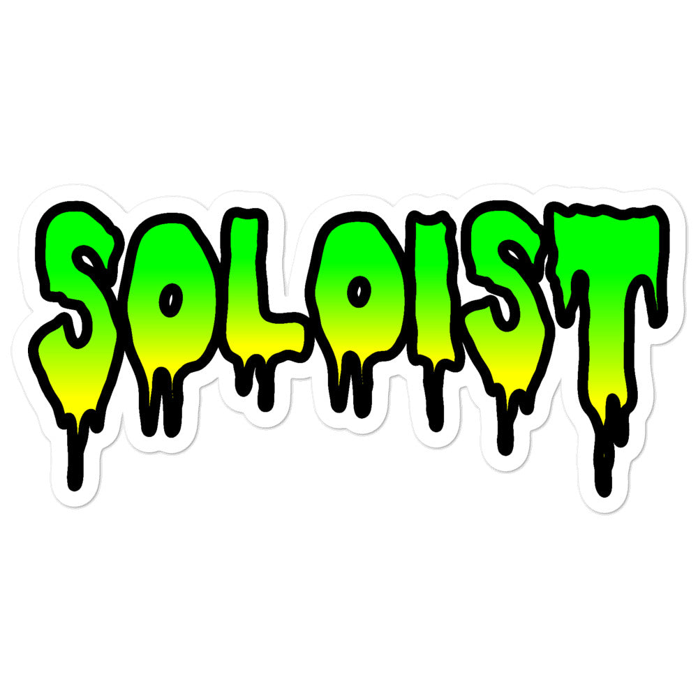 Soloist Bubble-Free Stickers-Marching Arts Merchandise-5.5x5.5-Marching Arts Merchandise