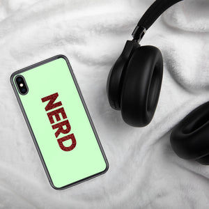 Nerd iPhone Case-Marching Arts Merchandise-iPhone XS Max-Marching Arts Merchandise