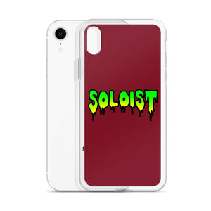 Soloist iPhone Case-Marching Arts Merchandise-Marching Arts Merchandise