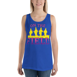On The Field Marching Band Unisex Tank Top-Marching Arts Merchandise-Marching Arts Merchandise