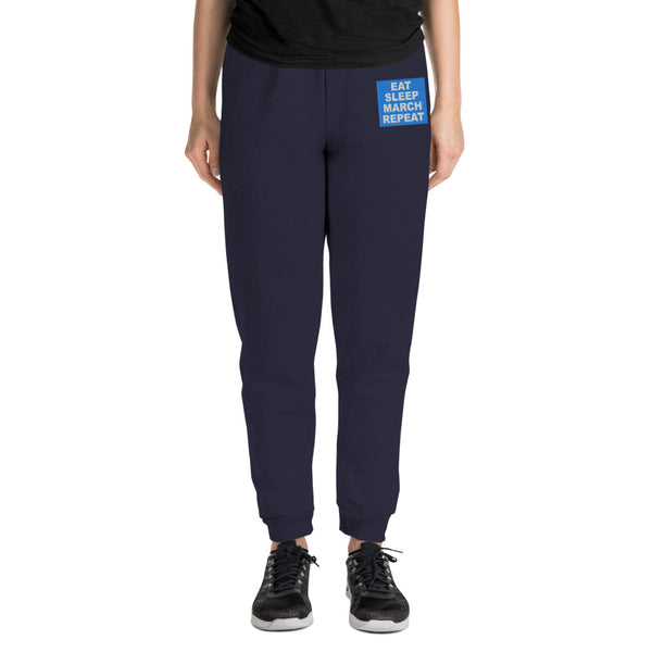 Repeat Embroidered Unisex Joggers - Marching Arts Merchandise -  - Marching Arts Merchandise - Marching Arts Merchandise - band percussion color guard clothing accessories home goods