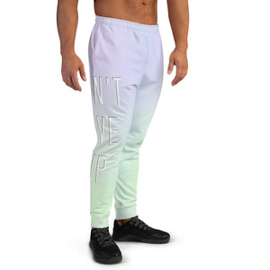 Don't Give Up Men's Joggers-Marching Arts Merchandise-Marching Arts Merchandise