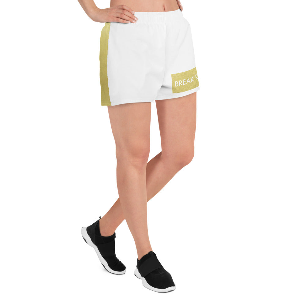 Break Ranks Marching Band Women's Athletic Short Shorts-Shorts-Marching Arts Merchandise-Marching Arts Merchandise