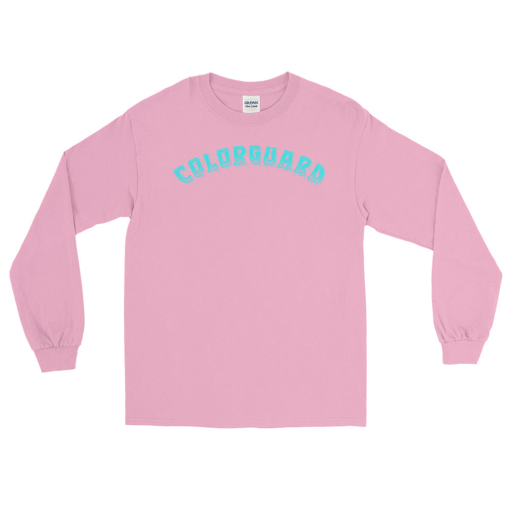 Color Guard Long Sleeve Shirt-Marching Arts Merchandise-Light Pink-S-Marching Arts Merchandise