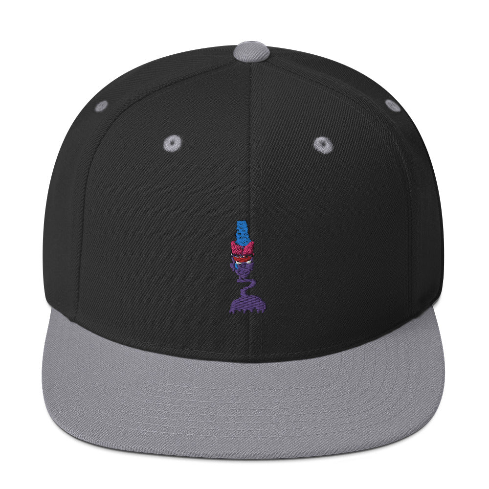 Zombie Drum Major Snapback Hat-Marching Arts Merchandise-Black/ Silver-Marching Arts Merchandise