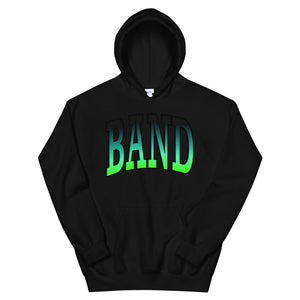 Ombre Band Unisex Hoodie-Marching Arts Merchandise-Black-S-Marching Arts Merchandise