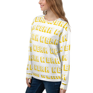 WERK All-Over Sweatshirt-Marching Arts Merchandise-Marching Arts Merchandise