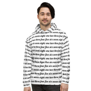 Count Unisex All-Over Hoodie-Marching Arts Merchandise-XS-Marching Arts Merchandise