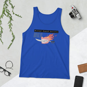 Winter Guard Saber Color Guard Unisex Tank Top-Marching Arts Merchandise-Marching Arts Merchandise