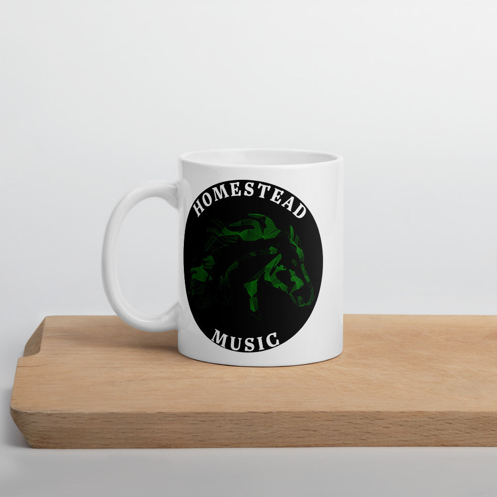 Homestead Music Mug-Marching Arts Merchandise-Marching Arts Merchandise