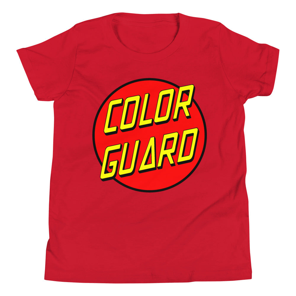 Color Cruz Youth Short Sleeve T-Shirt-Marching Arts Merchandise-Red-L-Marching Arts Merchandise
