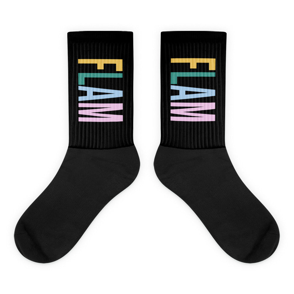 Textured Flam Socks-Marching Arts Merchandise-L-Marching Arts Merchandise