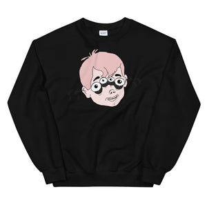 Four Eyed Tenor Percussion Unisex Sweatshirt-Marching Arts Merchandise-Black-S-Marching Arts Merchandise