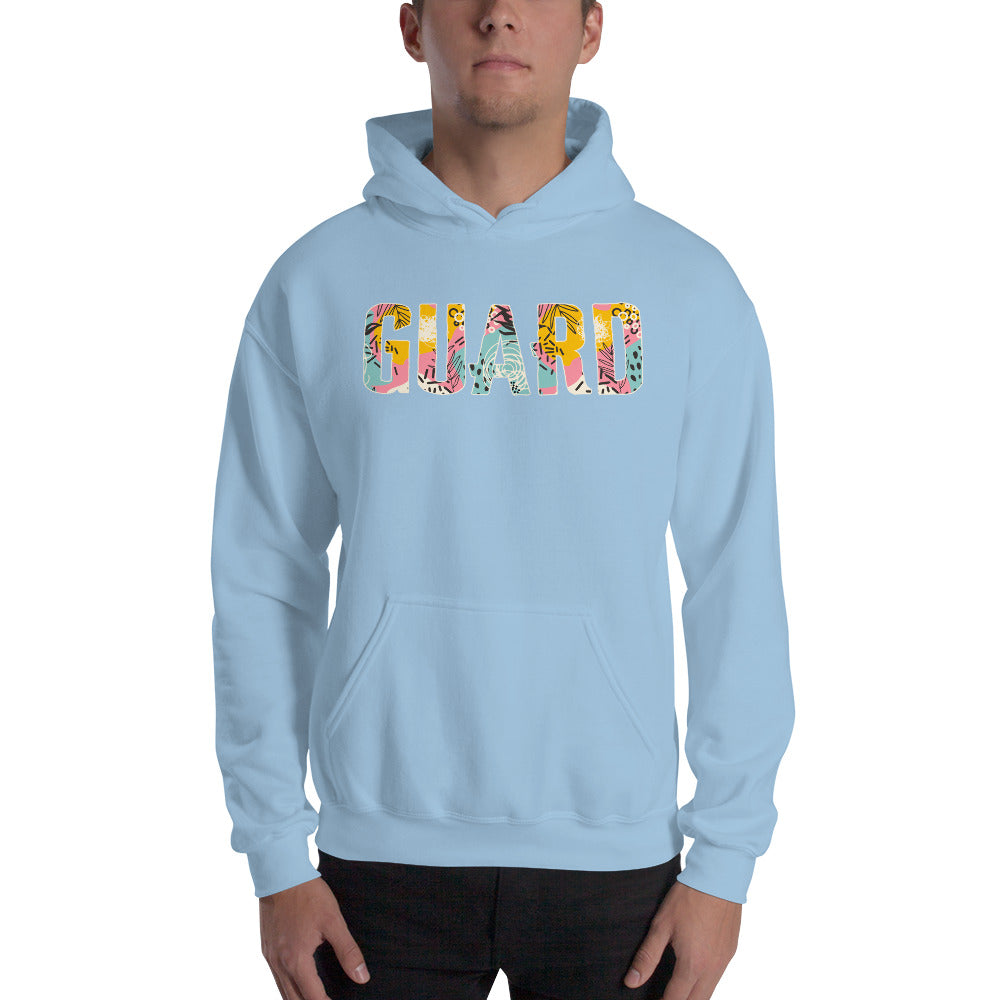90s Color Guard Unisex Hoodie-Marching Arts Merchandise-Marching Arts Merchandise