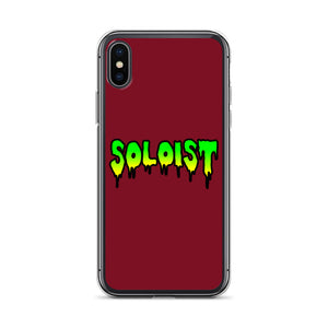 Soloist iPhone Case-Marching Arts Merchandise-iPhone X/XS-Marching Arts Merchandise