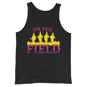 On The Field Marching Band Unisex Tank Top-Marching Arts Merchandise-Black-XS-Marching Arts Merchandise