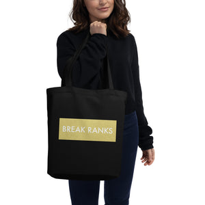 Break Ranks Marching Band Eco Tote Bag-Tote Bag-Marching Arts Merchandise-Marching Arts Merchandise