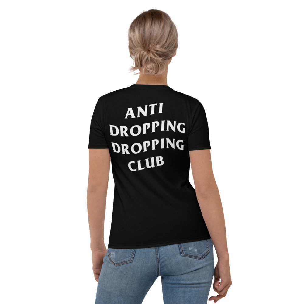 Anti Dropping Dropping Club Color Guard Women's T-shirt-Shirt-Marching Arts Merchandise-Marching Arts Merchandise