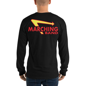 Marching Burgers Unisex Long Sleeve Shirt-Marching Arts Merchandise-Marching Arts Merchandise