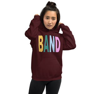 Texture Band Unisex Hoodie-Marching Arts Merchandise-Marching Arts Merchandise