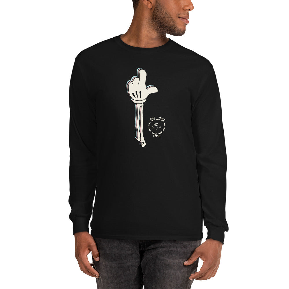 One More Time Skeleton Color Guard Long Sleeve Shirt-Marching Arts Merchandise-Marching Arts Merchandise