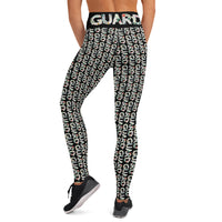 Color Guard Floral Yoga Leggings - Marching Arts Merchandise -  - Marching Arts Merchandise - Marching Arts Merchandise - band percussion color guard clothing accessories home goods