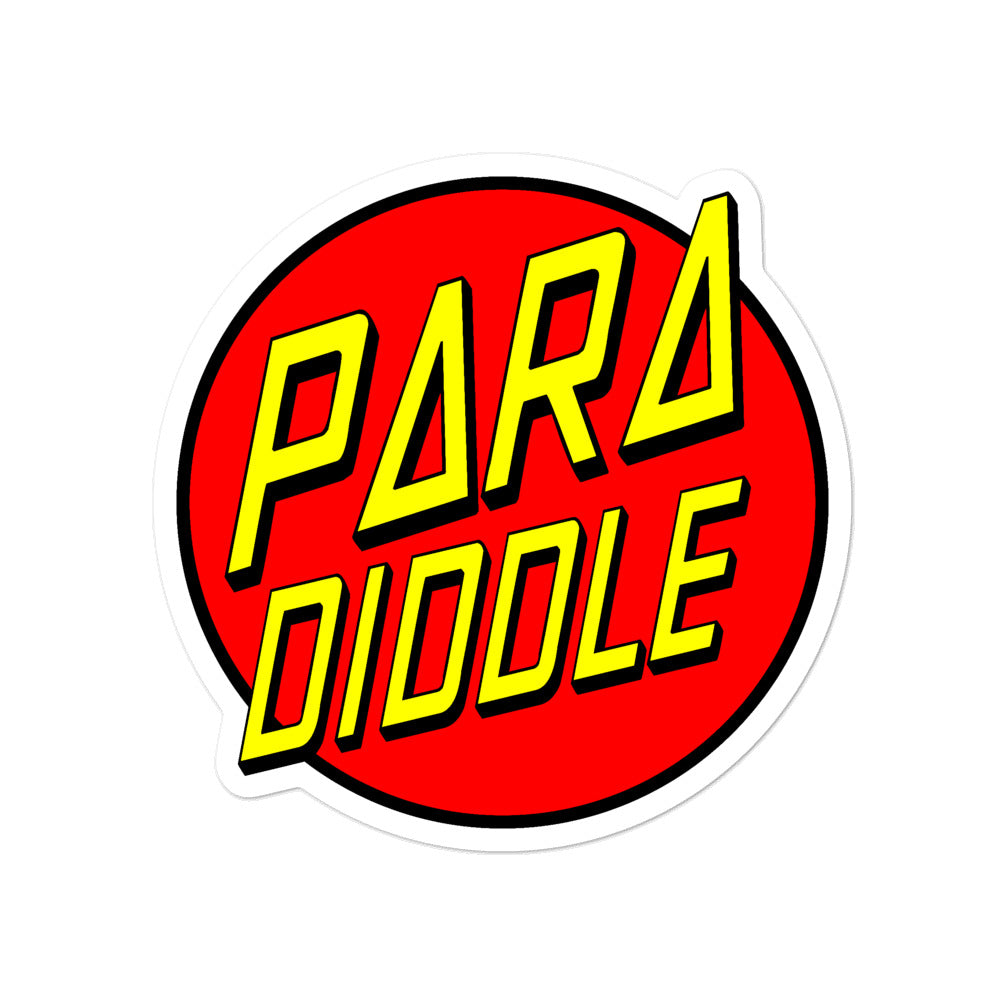 Para Cruz Bubble-Free Stickers-Marching Arts Merchandise-4x4-Marching Arts Merchandise