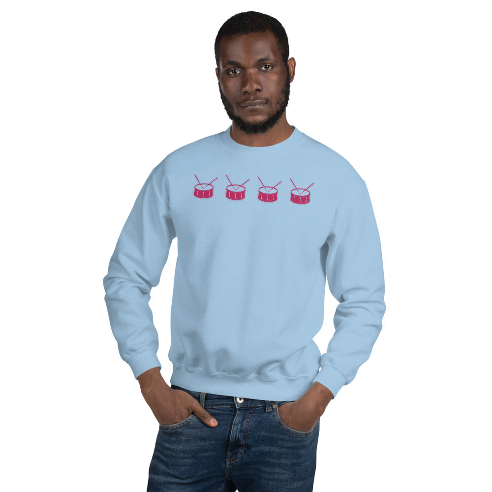 Line Of Snares Percussion Unisex Sweatshirt-Marching Arts Merchandise-Marching Arts Merchandise
